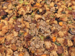 Low-Carb Thanksgiving Sausage Stuffing (dressing)