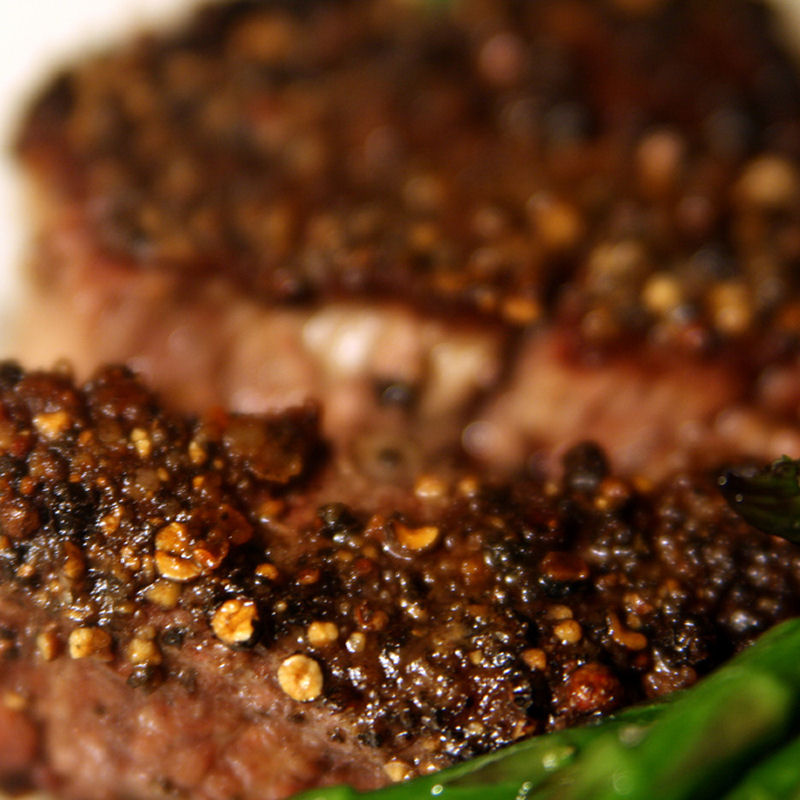 Au Poivre Steak Rub